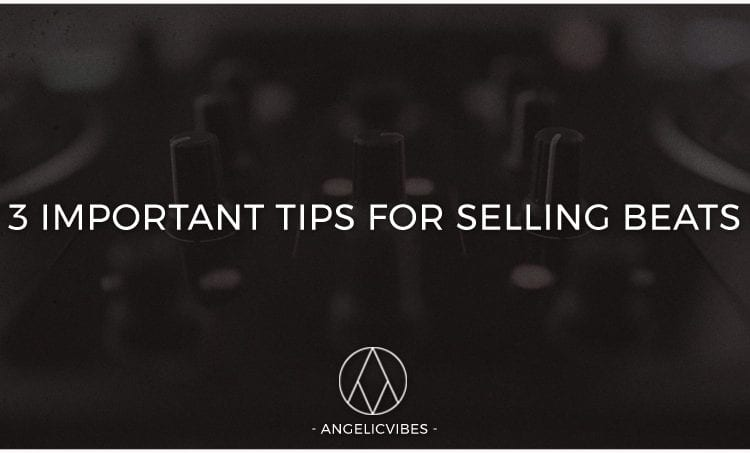 Artwork For 3 Important Tips For Selling Beats Online Post