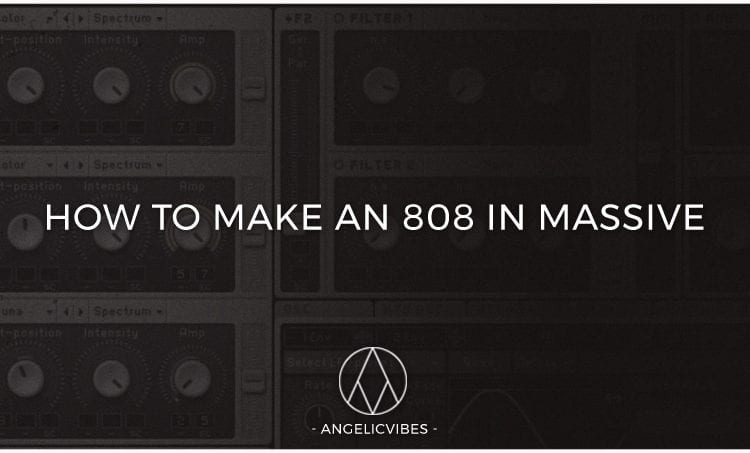 Artwork For How To Make An 808 In Massive Blog Post