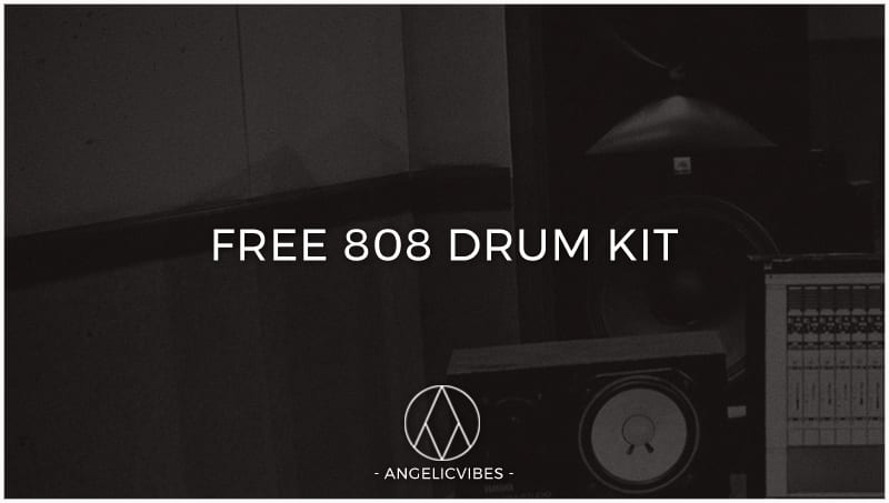 Artwork For Free 808 Drum Kit Blog Post