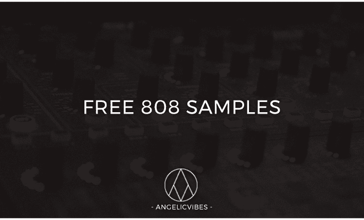 Artwork For 10 Free 808 Samples Blog Post