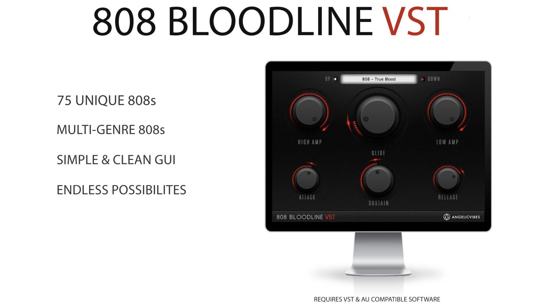 Mac Screen Of 808 VST Plugin Bloodline