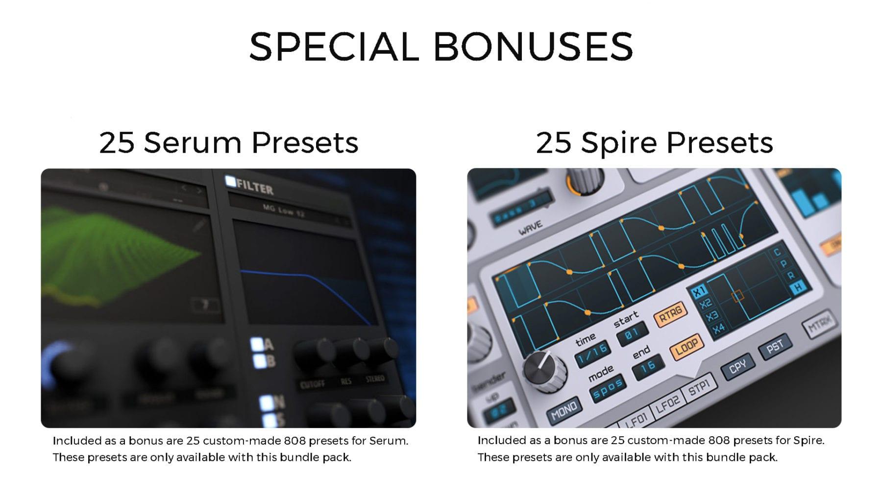 Bonuses For 808 Bundle Pack