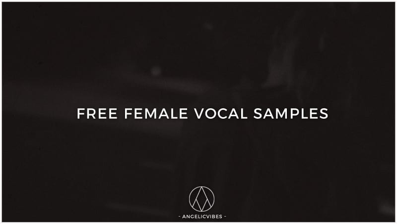 Artwork For Free Female Vocal Samples
