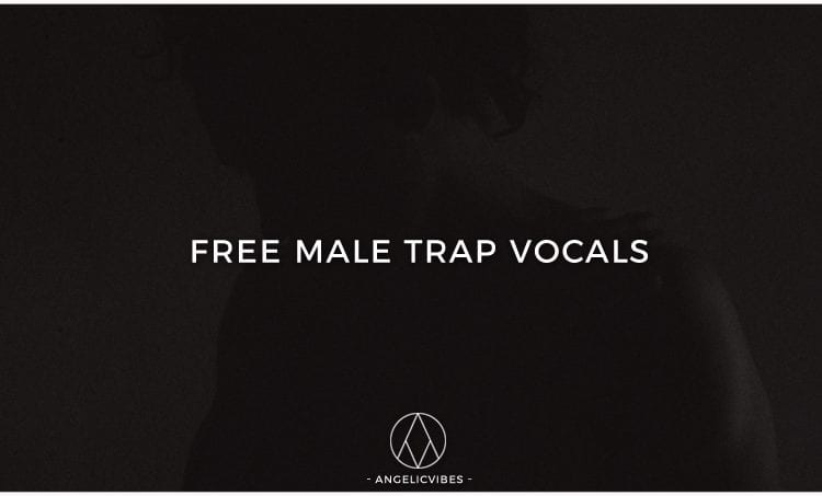 Artwork For Free Male Trap Vocals Sample Pack