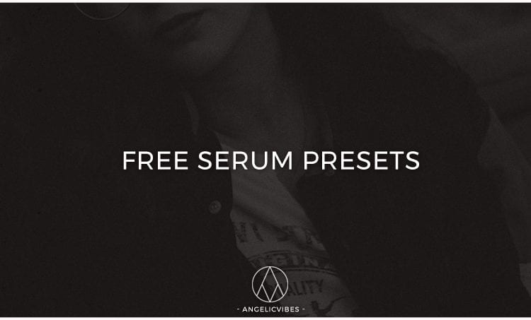 Artwork For Free Serum Presets Blog Post