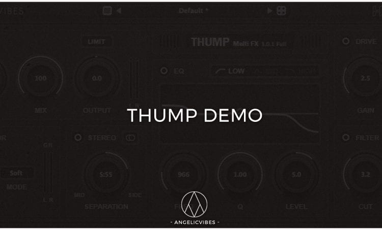 Artwork For The Free Thump Demo