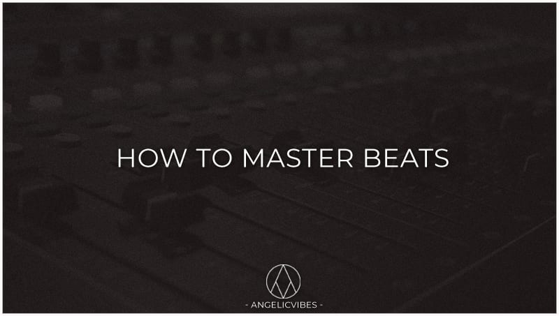 Artwork For How To Master Beats