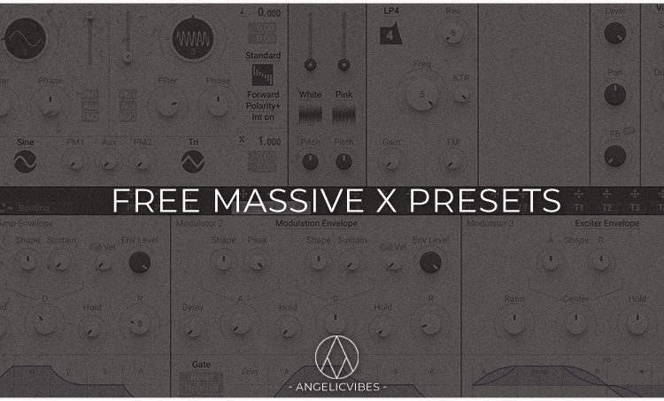 Artwork For Free Massive X Presets