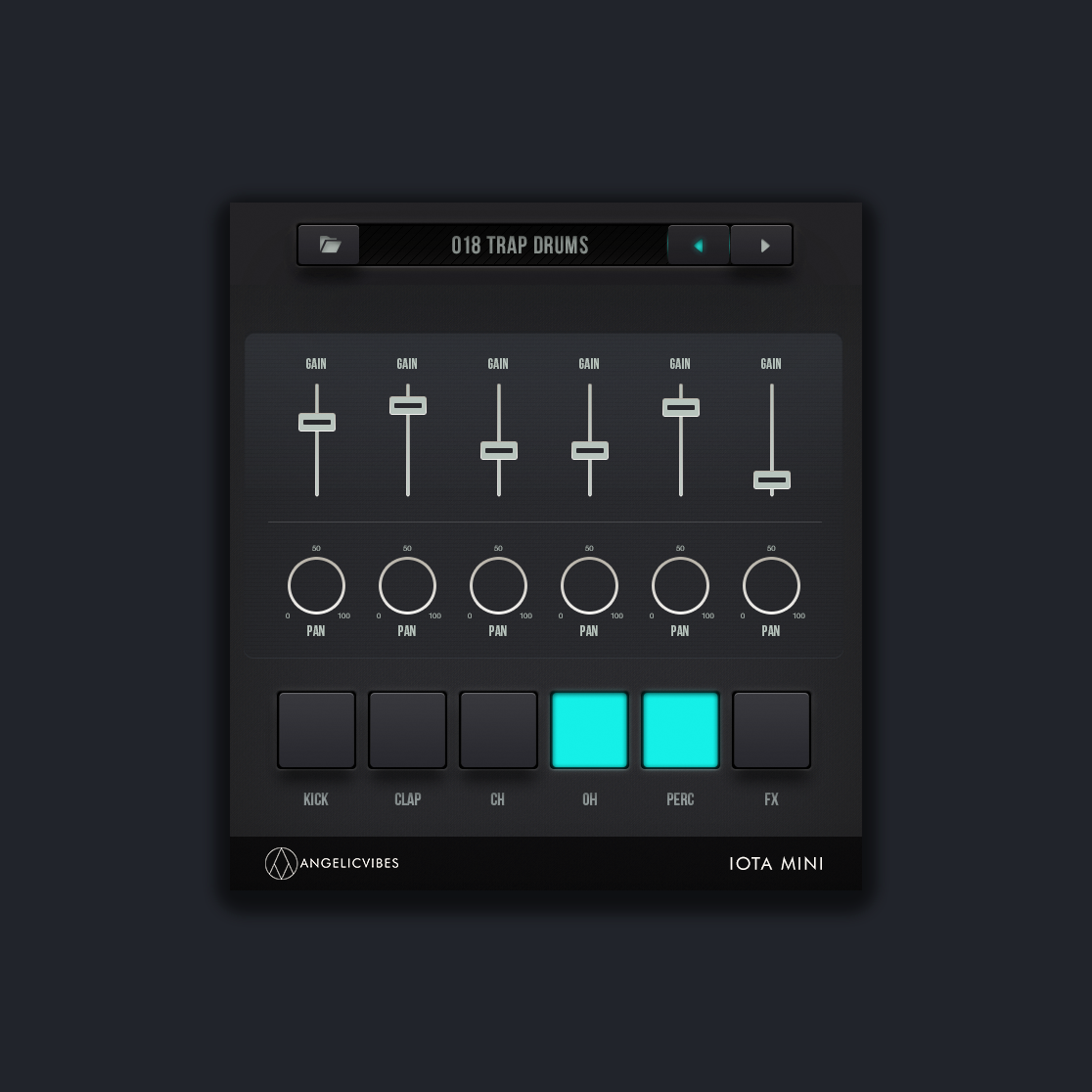The Drum Machine For Iota Mini VST