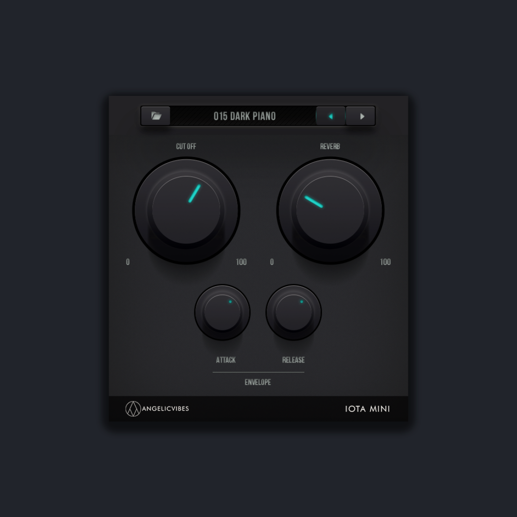 The Main GUI For Iota Mini VST