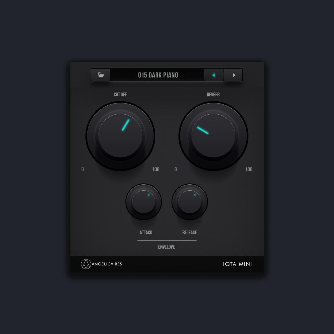 The Main GUI For Iota Mini VST